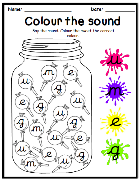colour the sound
