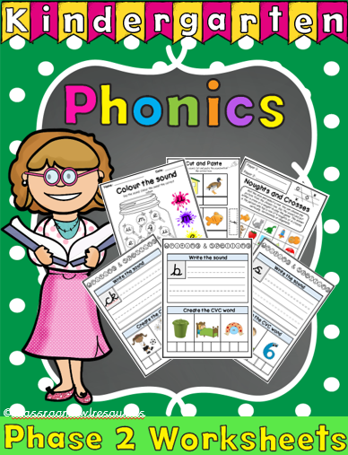 phonics front page