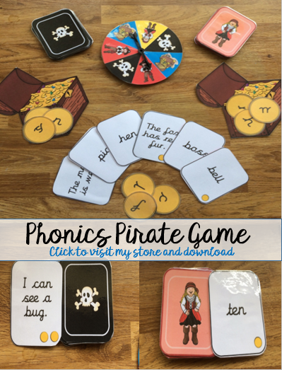 phonics pirate game front cover